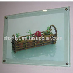 wall mounted acrylic photo frame