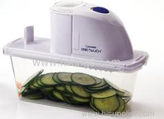 One touch home electric vegetable slicer