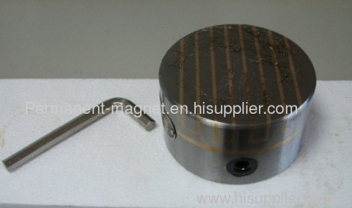 Circular Magnetic Chuck, Round Magnetic Chuck