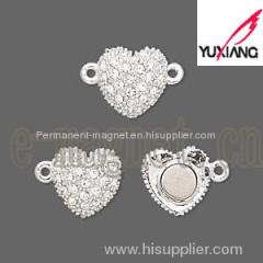 Fashion Rhinestone Magnetic Clasp