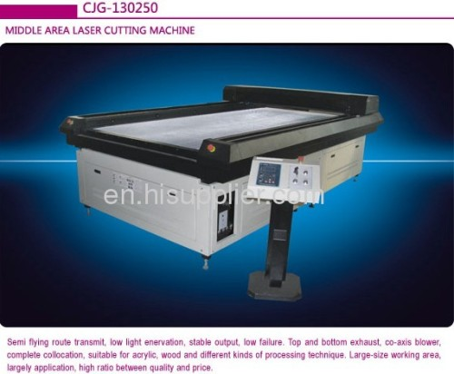 China Goldenlaser hardboard laser cutting machine
