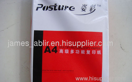 China Double A brand A4 copy paper manufacturer factory from