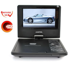 7 inch portable dvd player with TV/USB/AV function