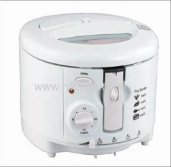 Adjustable Thermostat 1.8L home deep fryer With 2000w