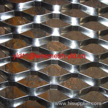 decorated mini aluminum expanded metals