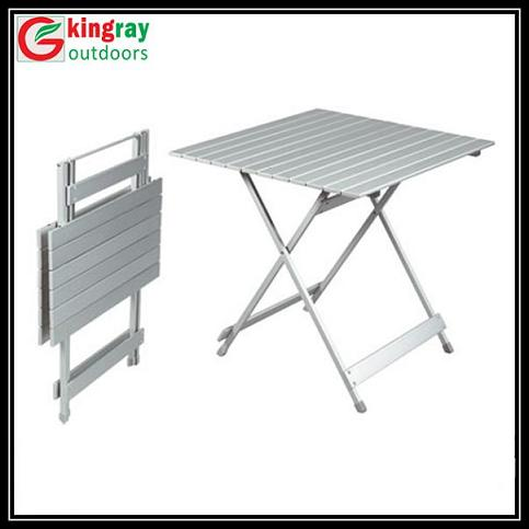 Aluminum Roll Up Table Portable Tables Picnic Table