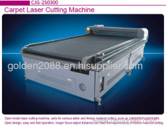 hotel door carpet mats laser cutting machine