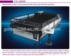 CNC Polyester Filter cloth laser cutting machine