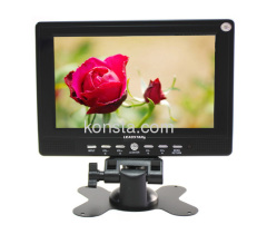 7 inch 16:9 TFT LCD TV With card and USB reader