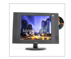 17 inch LCD TV/DVD with SD/MS/MMC card reader and USB