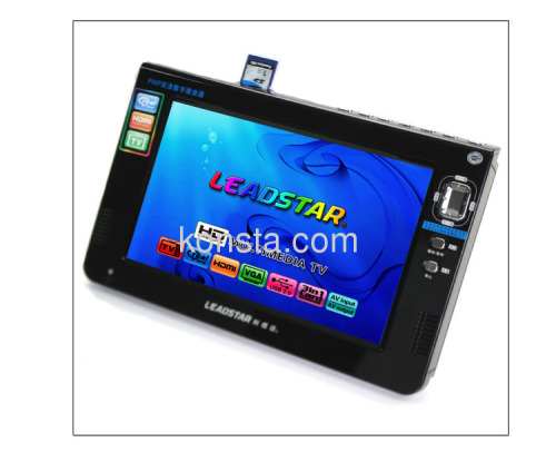 9 inch HD multimedia player & TV