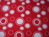 100%polyester solid printed polar fleece fabric