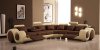 2011 hot sale corner sofa F822-3# with recliner ,sectional sofa