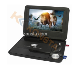 9 inch portable dvd player with TV/USB DVB-T(optional)