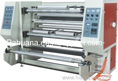 Slitting winding machine set