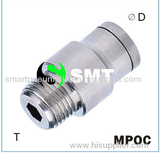 Pnematic type MPOC Push In Fitting