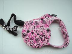 Small print pet leash