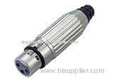 3Pin XLR Connector,XLR Plug,cannon plug