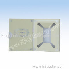 Yellow Color Fancy Folded Manner Display box