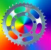 motorcycle/scooter roller chain sprocket gear wheel