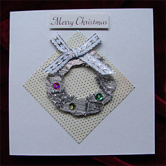 Christmas ring Card