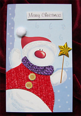 Christmas color Card