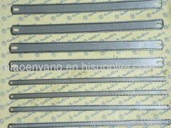 hacksaw blade, double teeth hacksaw blade, flexible