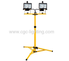 1000 Watt Halogen Standlight Portable Work Lighting Fixture