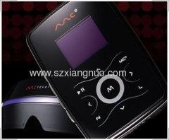 laser marker on MP3