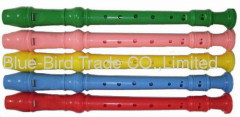 Plastic Flute with different color