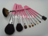 Shipping free Makeup brush set