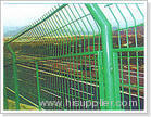 peach-shaped post welded wire mesh fences