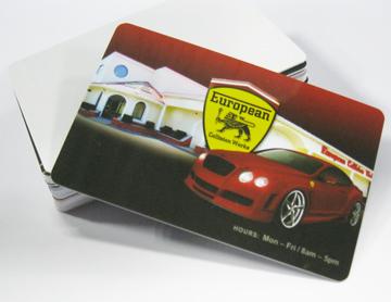 Plastic proximity smart cards