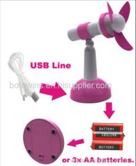 Microphone Fan