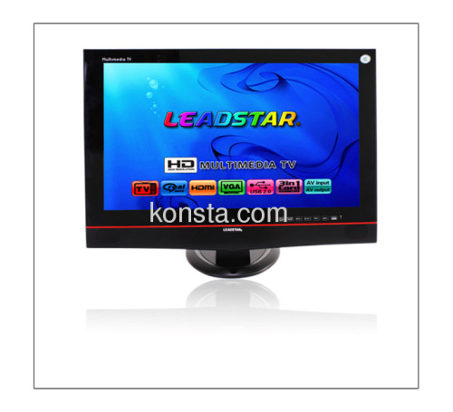 """17.3"""" LCD TV with SD/MS/MMC card reader and USB, support RMVB"""