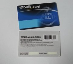 Printing Barcode Card/Super Market Membership Card