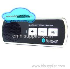 Bluetooth Handsfree Mobile Phone Car Kit High Quality