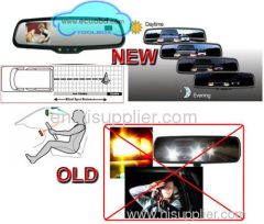 Auto Dimming Rearview Mirror With Camera Display High Quality