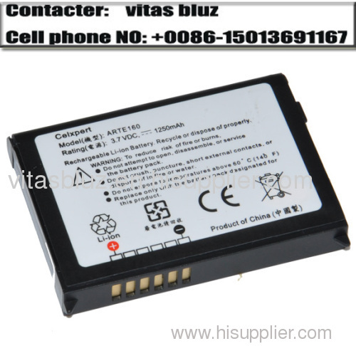 Battery for HTC battery ARTE160 battery M700/P800/P800w