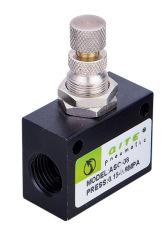 Restrictive check valve