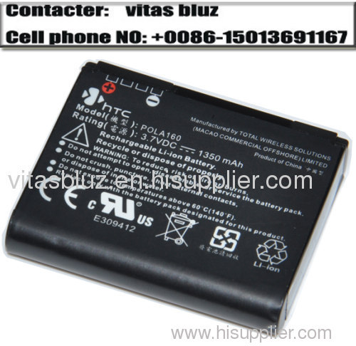 Battery for HTC battery POLA160 battery P860 P863 P3650