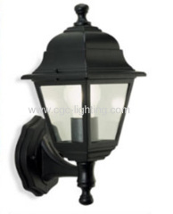 die-cast aluminium 4 side wall mounted garden lantern light