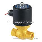 Steam solenoid valves
