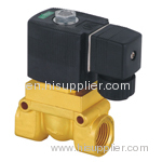 High-temperature solenoid valves