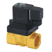 High-temperature solenoid valves