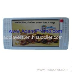 7 inch LCD advertising player AP07-01