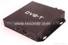 High Speed HD MPEG-4 DVB-T box for car