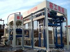 Cement Brick Making MachineMade by Yugong