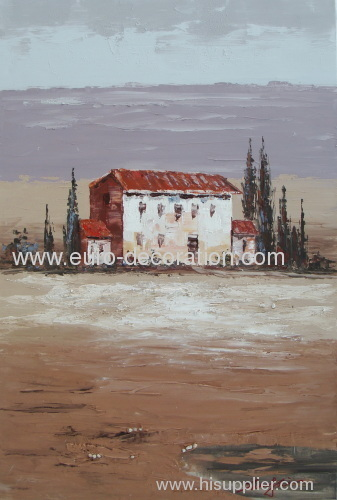 Handmade Canvas Landscape Oil Painting