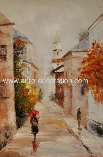Modern landscape oil paintings from china manufacturer for Artworks landscape ltd